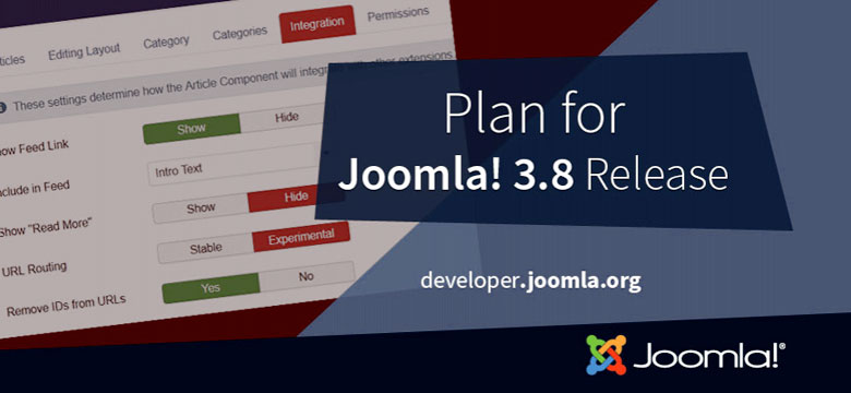 Joomla - Version 3-8